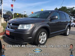 Used 2015 Dodge Journey SE Plus for sale in Stoney Creek, ON