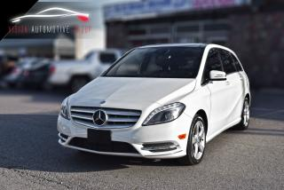 Used 2014 Mercedes-Benz B-Class B 250 Sports|NAVI|BACKUP CAM|PANO ROOF for sale in North York, ON