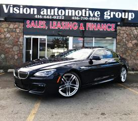 Used 2014 BMW 6 Series xDrive|M-PKG|NAV|360 CAM|GRAND COUPE for sale in North York, ON