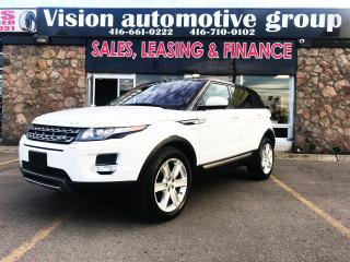 Used 2015 Land Rover Evoque PURE PLUS|NAV|360CAM|LANE ASSIST|BLIND SPOT for sale in North York, ON