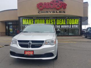 Used 2012 Dodge Grand Caravan SXT FULL STOW AND GO SXT NEW TIRES NEW BRAKES for sale in Scarborough, ON