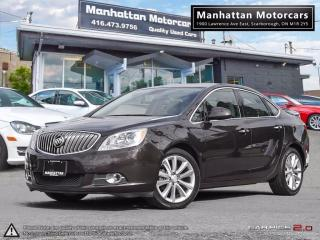 Used 2014 Buick Verano 1 OWNER|CAMERA|WARRANTY|ALLOYS|REMOTE STARTER for sale in Scarborough, ON