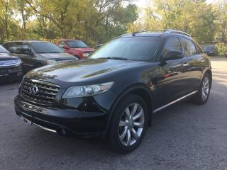 Used 2008 Infiniti FX35 SPORT * AWD * LEATHER * REAR CAM * SUNROOF * SAT RADIO SYSTEM * BOSE SPEAKERS for sale in London, ON