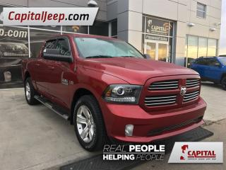 Used 2014 Dodge Ram 1500 Sport| Leather| 4X4| Sunroof| Remote Start for sale in Edmonton, AB