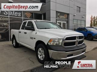 Used 2014 Dodge Ram 1500 ST| Cloth| Quad| 4X4| AUX for sale in Edmonton, AB