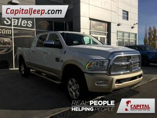 Used 2014 Dodge Ram 3500 Longhorn| Leather| 4X4| Sunroof| Mega Cab for sale in Edmonton, AB