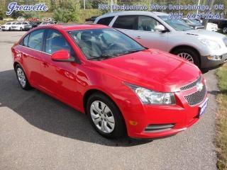 Used 2014 Chevrolet Cruze 1LT for sale in Bracebridge, ON
