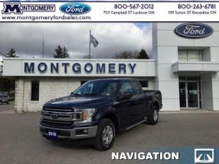New 2018 Ford F-150 4X4  SUPER  CAB  - SYNC for sale in Kincardine, ON