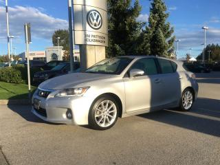 Used 2012 Lexus CT 200h CVT for sale in Surrey, BC