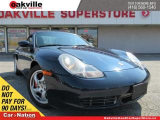 Used 2000 Porsche Boxster S | LEATHER | 6 SPEED M/T | LOW KM ! for sale in Oakville, ON