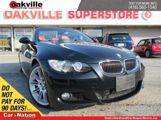 Used 2009 BMW 335i i | RED LEATHER | HARDTOP| HANDSFREE|BACKUP SENSOR for sale in Oakville, ON
