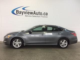 Used 2015 Nissan Altima SV- 2.5L|SUNROOF|ALLOYS|HTD STS|REV CAM|BLUETOOTH! for sale in Belleville, ON