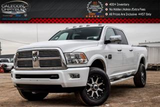 Used 2012 Dodge Ram 2500 Laramie Longhorn|4x4|Diesel|Navi|Backup Cam|Bluetooth|R-Start|Leather|18