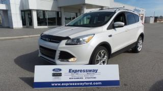 Used 2013 Ford Escape Titanium 2.0L Eco AWD, Leather, Moon, Navi for sale in Stratford, ON