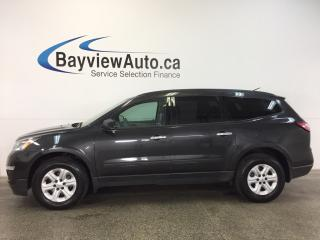 Used 2017 Chevrolet Traverse LS- AWD|REVERSE CAM|8 RIDER|ON STAR! for sale in Belleville, ON
