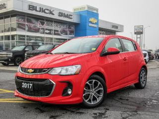 Used 2017 Chevrolet Sonic LT,RS,SUNROOF,HEATED SEATS REMOTE START for sale in Ottawa, ON