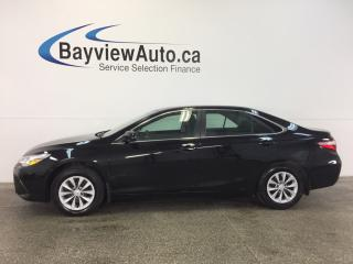 Used 2017 Toyota Camry LE- 2.5L! A/C! REV CAM! BLUETOOTH! CRUISE! for sale in Belleville, ON