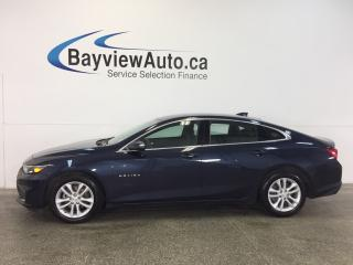 Used 2017 Chevrolet Malibu LT- TURBO|PUSH BTN STRT|REV CAM|MY LINK|WIFI! for sale in Belleville, ON