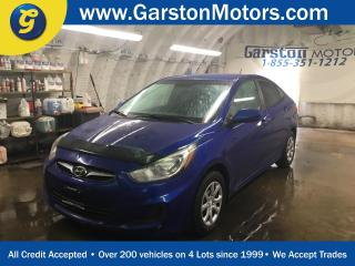 Used 2012 Hyundai Accent CLIMATE CONTROL*ECO MODE*TRACTION CONTROL*AM/FM/CD/AUX/USB* for sale in Cambridge, ON