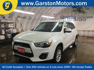 Used 2013 Mitsubishi RVR SE*CVT*AWD*PHONE CONNECT*HEATED FRONT SEATS*KEYLESS ENTRY*CLIMATE CONTROL*ALLOYS*TRACTION CONTROL*AM/FM/CD/USB/BLUETOOTH*CRUISE CONTROL*FOG LIGHTS*POW for sale in Cambridge, ON