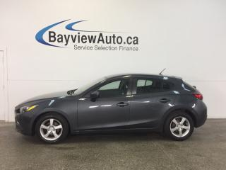 Used 2015 Mazda MAZDA3 GX- SKYACTIV|AUTO|ALLOYS|A/C|BLUETOOTH! for sale in Belleville, ON