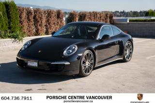 Used 2016 Porsche 911 Carrera 4 Black Edition PDK for sale in Vancouver, BC