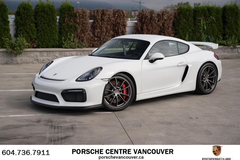 Used 2016 Porsche Cayman GT4 for Sale in Vancouver ...