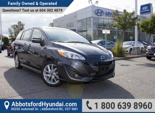 Used 2017 Mazda MAZDA5 GT ONE OWNER & ACCIDENT FREE for sale in Abbotsford, BC