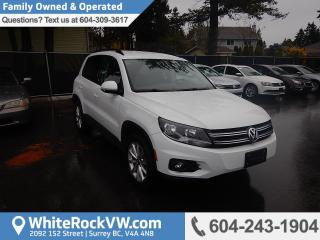 Used 2017 Volkswagen Tiguan Wolfsburg Edition WOLFSBURG EDITION, CRUISE CONTROL, KEYLESS ENTRY & A/C for sale in Surrey, BC