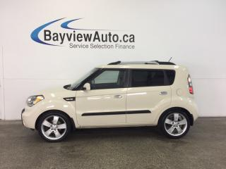 Used 2010 Kia Soul 4U- ALLOYS|SUNROOF|HTD SEATS|BLUETOOTH|CRUISE! for sale in Belleville, ON