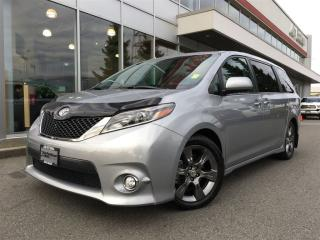 Used 2015 Toyota Sienna SE 8 Pass,Nav,local,sunroof,one owner for sale in Surrey, BC