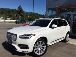 Used 2016 Volvo XC90 T6 AWD Inscription / Vision Package for sale in North Vancouver, BC