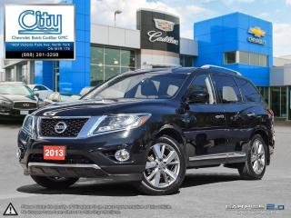 Used 2013 Nissan Pathfinder Platinum V6 4x4 at for sale in North York, ON