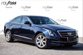 Used 2016 Cadillac ATS Luxury AWD Cue Roof 17Whls for sale in Thornhill, ON