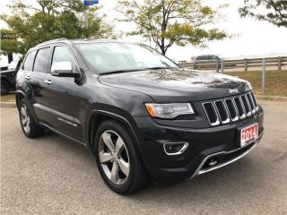 Used 2014 Jeep Grand Cherokee OVERLAND**3.0L ECO DIESEL** for sale in Mississauga, ON