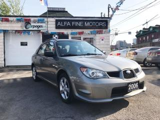 Used 2006 Subaru Impreza AUTO/AWD ((CERTIFIED)) for sale in Hamilton, ON