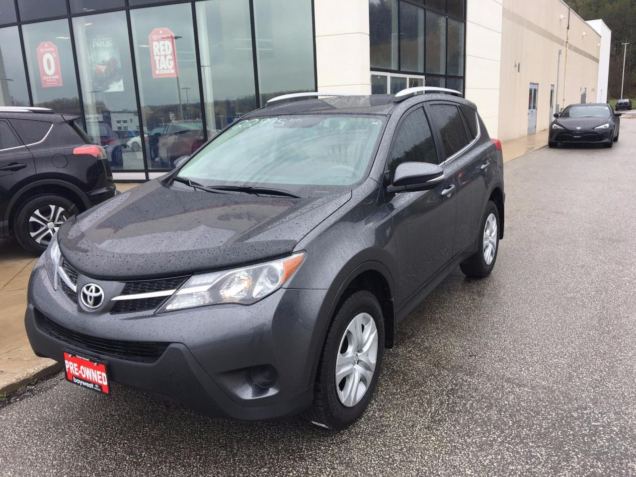Owen Sound Toyota >> Used 2015 Toyota Rav4 Le For Sale In Owen Sound Ontario