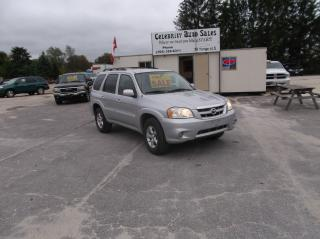 Used 2005 Mazda Tribute AWD S for sale in Elmvale, ON