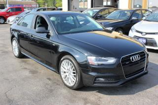 Used 2015 Audi A4 Komfort plus S-Line for sale in Brampton, ON