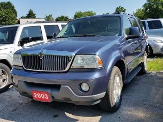 Used 2003 Lincoln Aviator 6 SEATS for sale in Scarborough, ON