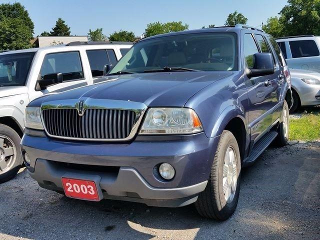 Used 2003 Lincoln Aviator 6 Seats Certified For Sale In Scarborough Ontario