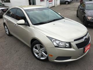 Used 2014 Chevrolet Cruze DIESEL/AUTO/NAVI/BACKUP CAMERA/LEATHER/LIKE NEW for sale in Scarborough, ON