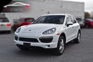 Used 2013 Porsche Cayenne S| NAVI|BACKUP CAM|BLIND SPOT|COOLER SEAT for sale in North York, ON