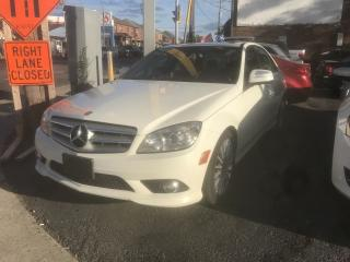 Used 2009 Mercedes-Benz C-Class 2.5L 4MATIC ONE OWNER CERTIFIED NO ACCIDENT for sale in York, ON