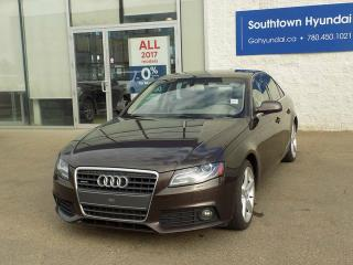 Used 2011 Audi A4 2.0T PREMIUM for sale in Edmonton, AB