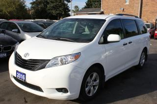 Used 2016 Toyota Sienna White for sale in Brampton, ON
