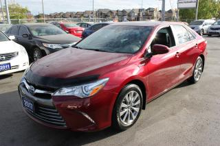 Used 2017 Toyota Camry XLE Hybrid Loaded for sale in Brampton, ON