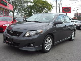 Used 2009 Toyota Corolla S for sale in London, ON