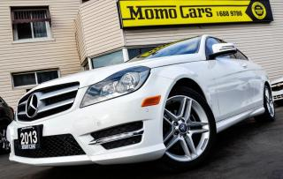 Used 2013 Mercedes-Benz C250 Leather+USB/AuxIn+Moonroof! ONLY $174/bi-weekly! for sale in St Catharines, ON
