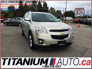 Used 2014 Chevrolet Equinox LT-2+AWD+Leather+Camera+Power Gate+Remote Start+XM for sale in London, ON